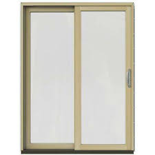 Wood Sliding Glass Patio Doors Wood Patio Doors Exterior Doors The Home Depot
