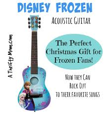 disney frozen acoustic guitar for kids now they can rock out to their favorite songs frozen christmasgiftforkids jpg