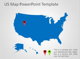 us map for powerpoint cerescoffee co