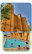 1 Bedroom Condo Myrtle Beach One 1 Bedroom Vacation Condo Rentals Myrtle Beach Oceanfront