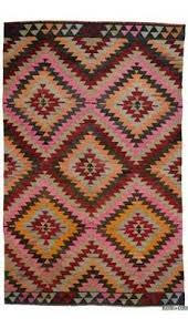 Colorful Kilim Rug Kilim Rugs Overdyed Vintage Rugs Hand Made Turkish Rugs