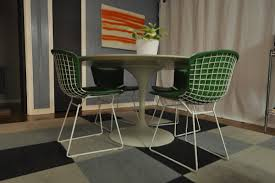 Bertoia Dining Chair Estilo Bertoia Side Chair With Cover