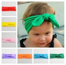 s headbands children s headbands elastic cloth bow rabbit ear shape festival