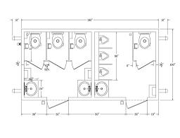 bathroom floor plan dimensions