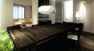 contemporary wood dining table u2013 thelt co