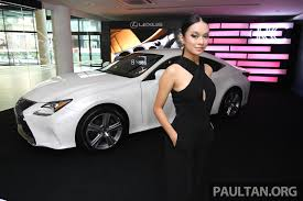 lexus rc350 v8 lexus rc coupe launched in malaysia u2013 rc 350 luxury for rm526k