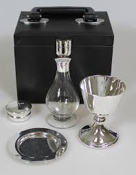 travel communion set communion sets silver plated communion sets