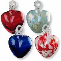 mexican blown glass ornaments