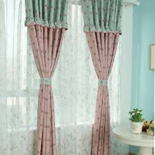 Pink And Teal Curtains Decorating Shabby Chic Curtains Shabby Chic Window Curtains