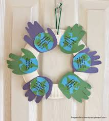 Home Decor Using Recycled Materials Happy Earth Day Earth And Craft