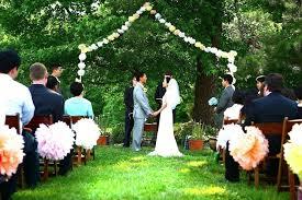 Small Backyard Wedding Ideas Backyard Wedding Decorations Ideas Media Magazine