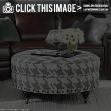 coffee table coffee table gallery collection round ottoman tufted