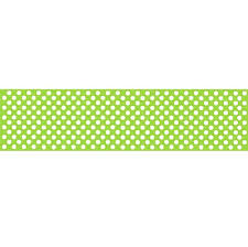 lime green table runner green polka dot paper table runner 120 x 29 7cm each