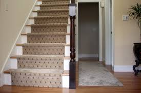 floor nice home design with patterned carpet runners for stairs