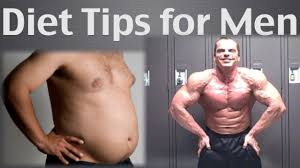 best fat loss diet tips for men youtube
