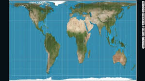 africa map real size why do western maps shrink africa cnn