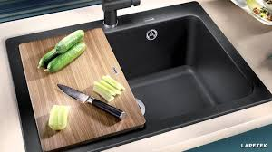 Granite Composite Kitchen Sinks by Sinks And Faucets Black Composite Sink Ceramic Undermount Sink