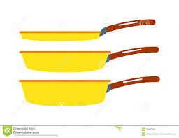 Home Kitchen Equipment by Cartoon Pan Cooking Steel Home Kitchen Equipment Pot Vector