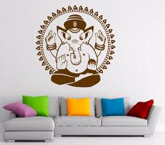 online buy wholesale abstract ganesha from china abstract ganesha ganesha elephant wall decal indian design vinyl stickers lord of success home interior art murals bedroom