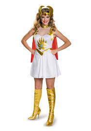 party city halloween costumes men she ra classic costume