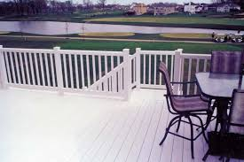 wood or plastic deck railing pros and cons of each