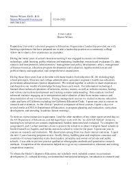 sharon wilson cover letter