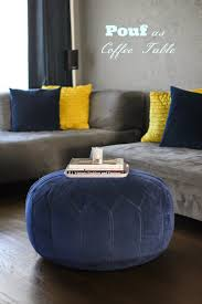 Pouf Coffee Table Home Decor On A Budget Poufs As Coffee Tables Viva Fashion Coffee