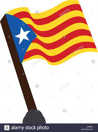 Flag Of Catalonia Catalan Flag Cut Out Stock Images U0026 Pictures Alamy