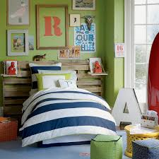 green paint colors bedroom with ivory bunk bed and study table