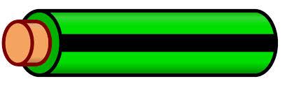 file wire green black stripe svg wikimedia commons