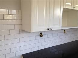 Grout Kitchen Backsplash by Kitchen Subway Tile With White Grout Kitchen Backsplash Tile