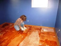 how and how not to remove carpet padding from hardwood floors