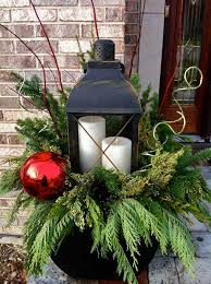 Christmas Decorations For Outdoor Lamps by 35 Cool Christmas Lanterns Decor Ideas For Outdoors Gardenoholic
