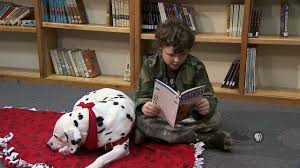 spotlight therapy dog for reading youtube