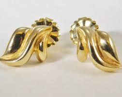 stylish gold earrings stylish earrings etsy