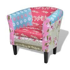 Relax Armchair Patchwork Relax Armchair Flora Design Www Vidaxl Com Au