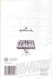 Hallmark Birthday Card Collecting Superman Hallmark 2014 Justice League Unlimited