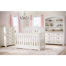 Simmons Convertible Crib Simmons Castille Crib N More In Vintage White Free Shipping