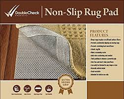 How Big Should A Rug Pad Be Amazon Com Non Slip Area Rug Pad Size 4 U0027 X 6 U0027 Extra Strong Grip