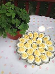 deviled egg platters deviled eggs the party pleasing food nancie s table