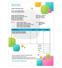 7 best images of adobe invoice template design invoice template