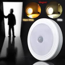 2017 5 led 30 lumens auto body motion sensor detector night light