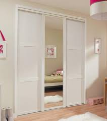 Sliding Closet Doors White Shaker Panel Mirror Door White Sliding Wardrobe Doors Doors
