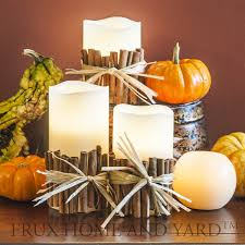 sphere flameless candles with remote candles decoration