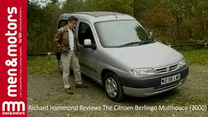 richard hammond reviews the citroen berlingo multispace 2000