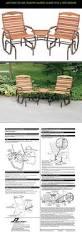 Tete A Tete Garden Furniture by Patio Glider Ile Ilgili Pinterest U0027teki En Iyi 25 U0027den Fazla Fikir
