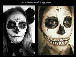 imagenes de calaveras hombres maquillajes para halloween de crisálida a mariposa