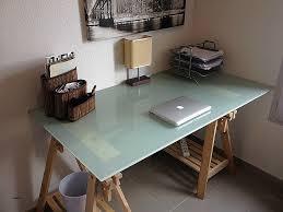 plateau verre bureau bureau bureau en verre a vendre inspirational ikea bureau verre