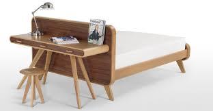 Schreibtisch Walnuss Fonteyn Konsolentisch Eiche Und Walnuss Made Com