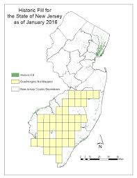New Jersey Map Njdep New Jersey Geological And Water Survey Dgs04 7 Historic